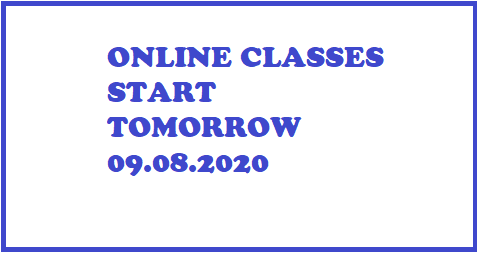 online classes only